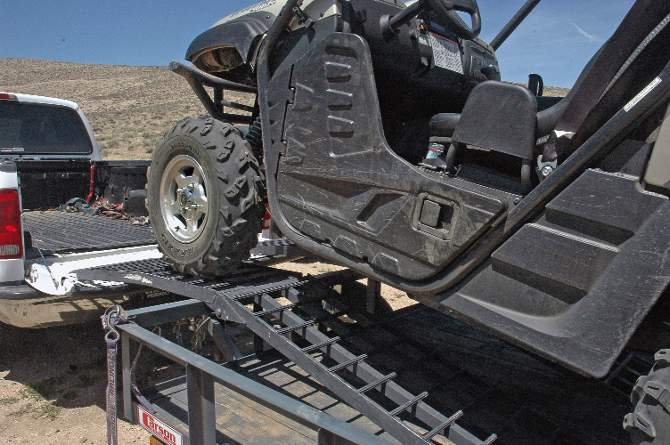 HOW TO HAUL YOUR ATV & UTV | Dirt Wheels Magazine