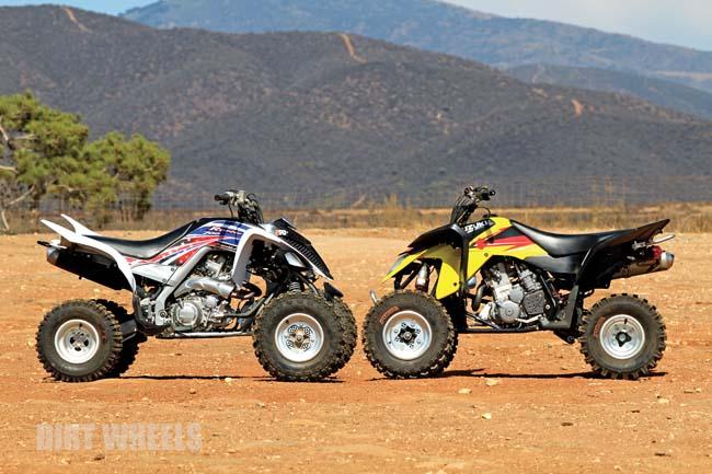 TRAIL SHOOTOUT: SUZUKI 400 VS YAMAHA 700 | Dirt Wheels Magazine