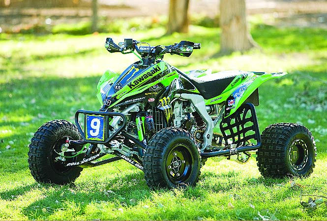 HIGH PERFORMANCE SPORT TEST: 2009 KAWASAKI KFX 450; We compare it to ...