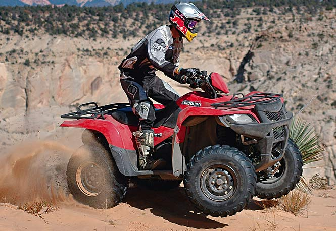 4x4 test 2009 suzuki king quad 450 axi fuel injected economy 4x4 dirt wheels magazine. Black Bedroom Furniture Sets. Home Design Ideas