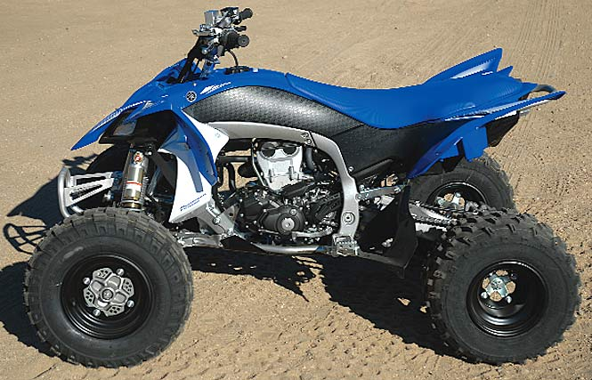 2009 Yamaha YFZ450R: High Performance Test Changing history