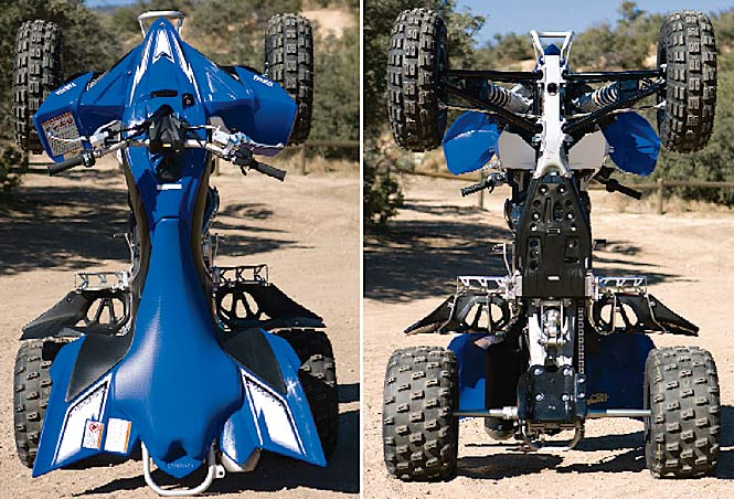 2009 Yamaha YFZ450R: High Performance Test Changing history | Dirt ...