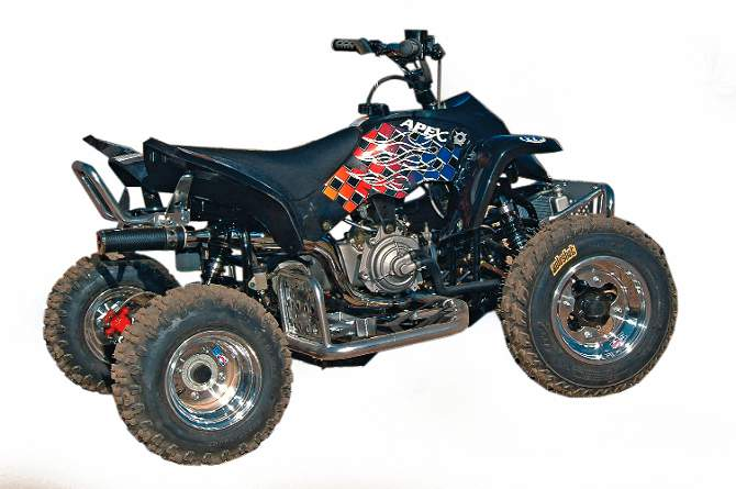MINI ATV HOP-UP GUIDE A kid's quad should keep up with his