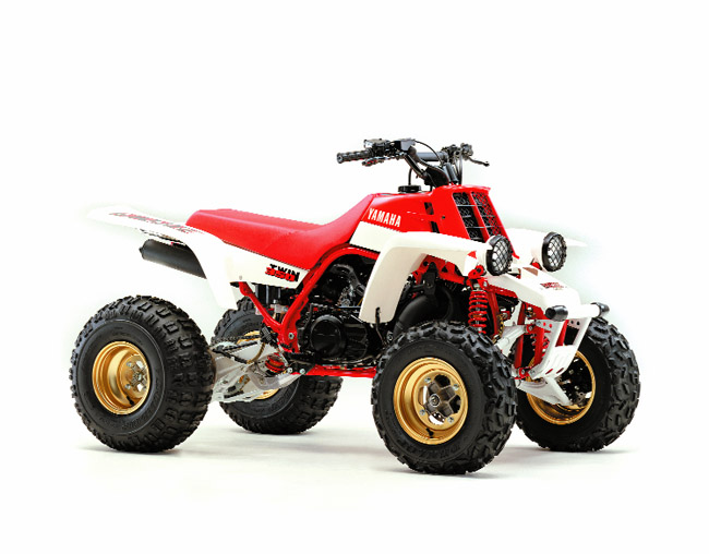 Top 10 atvs of all time dirt wheels magazine for Four wheelers yamaha for sale