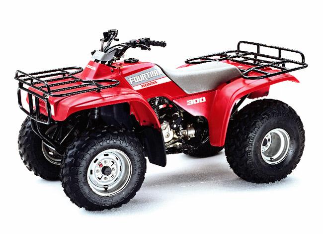 1988 HONDA 300 4×4