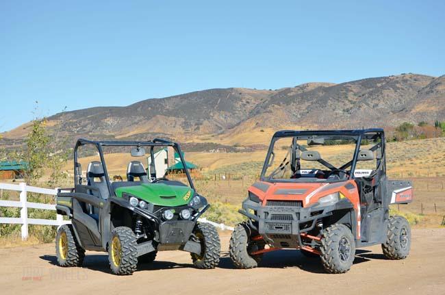 John Deere Gator Rsx850i Vs Polaris Ranger Xp 900 €� Dirt Wheels
