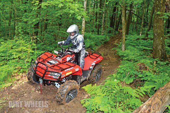 ROX SPEED FX ARCTIC CAT 500 BLUE-COLLAR BUILD   Dirt Wheels Magazine