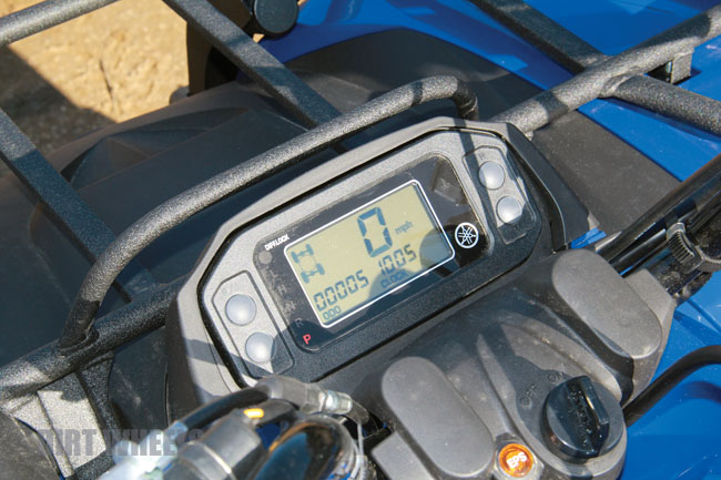 Yamaha Grizzly Digital Dash