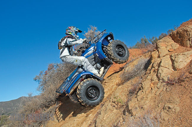2014 YAMAHA GRIZZLY 450 4X4 EPS | Dirt Wheels Magazine