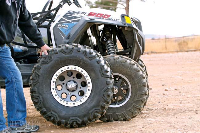 Yamaha Rhino Stock Tire Size