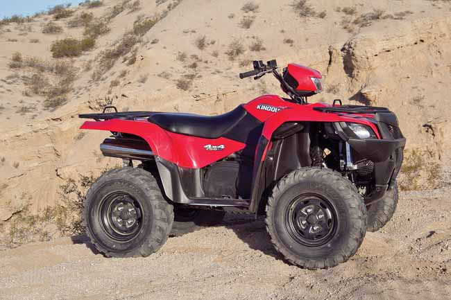 SUZUKI KINGQUAD 750 TEST | Dirt Wheels Magazine