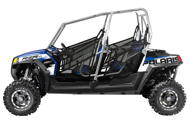 New polaris rzr 4 first 4 seater sxs dirt wheels magazine for Yamaha side by side 4 seater
