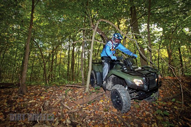 2014 HONDA RANCHER 420   Dirt Wheels Magazine
