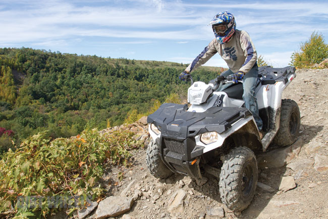 Polaris Called Its Best Selling Sportsman 500 4x4 Atv A Value Model And For 2014 Its A 570 And A Vastly Better Value Its Big News For 2014 Is The New