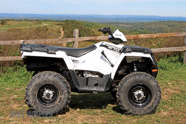 Test Polaris Sportsman 570 Dirt Wheels Magazine