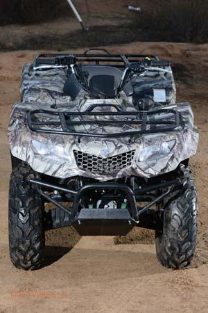 TEST: SUZUKI KINGQUAD 400   Dirt Wheels Magazine