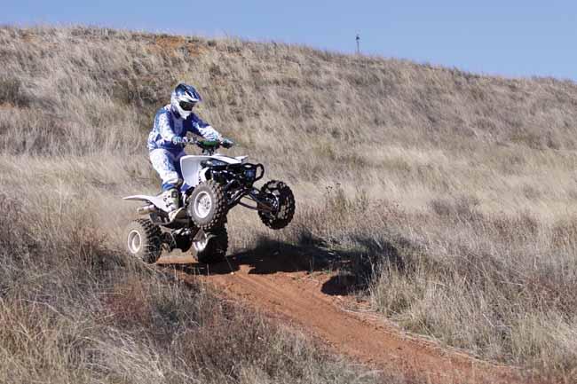 YFZ450 TRAIL QUAD   Dirt Wheels Magazine