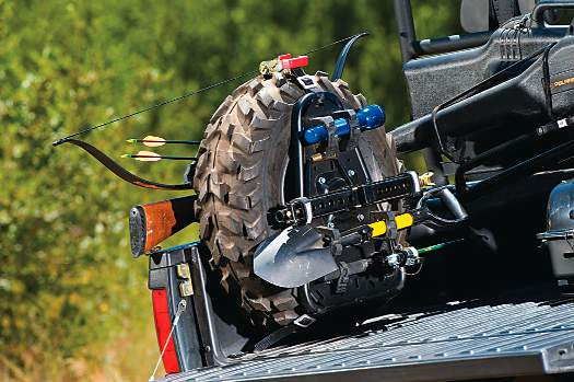 product evaluation pro armor quickshot jack tire tool carrier dirt wheels magazine