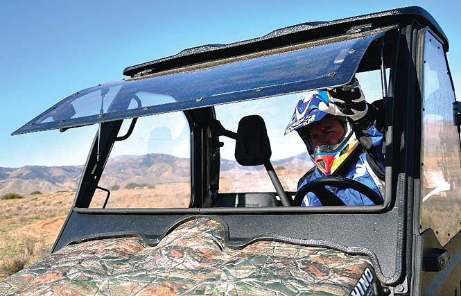 Product evaluation curtis cab for the yamaha rhino fully for Yamaha rhino windshield template