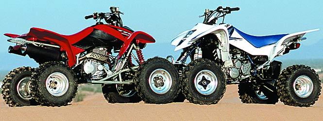 Shootout: Honda 400EX vs  Suzuki Z400