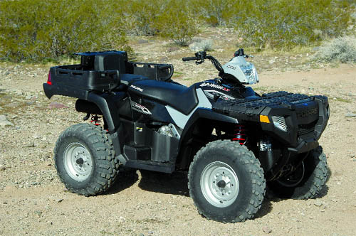 DIRT WHEELS TEST: POLARIS SPORTSMAN 500 X2   Dirt Wheels