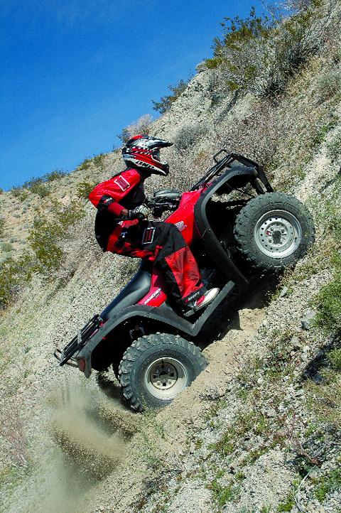 Dirt Wheel S Test Honda Fourtrax Rancher 350 Es Dirt Wheels Magazine