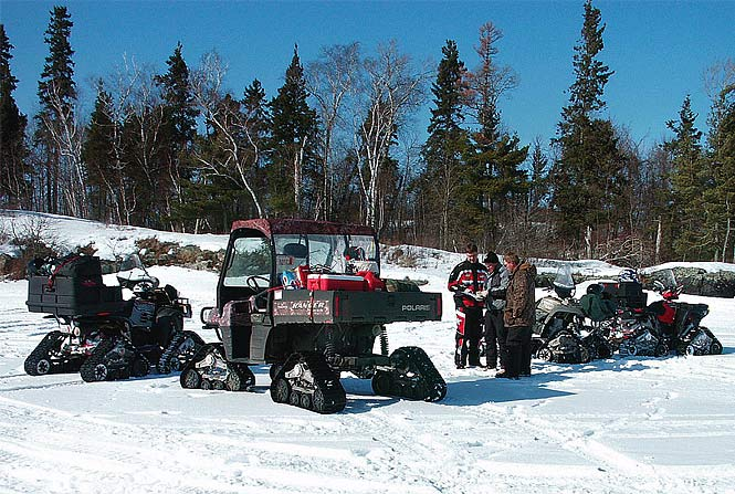 Buyersguide Atvutv Snow Tracks Go Into The Snow Dirt Wheels