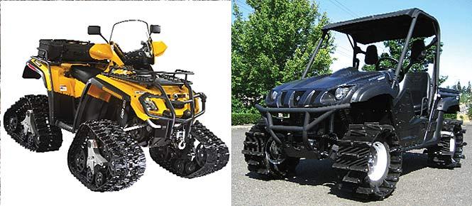 BUYER'S•GUIDE: ATV/UTV SNOW TRACKS; Go into the snow | Dirt Wheels Magazine