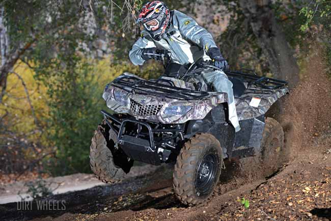 2013 SUZUKI KINGQUAD 400 4X4 | Dirt Wheels Magazine
