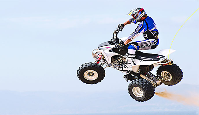 HIGH PERFORMANCE TEST: 2007 HONDA TRX450R | Dirt Wheels Magazine