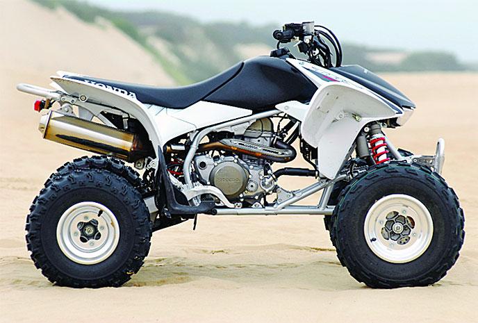 Four Wheelers Mx : High performance test honda trx r dirt wheels