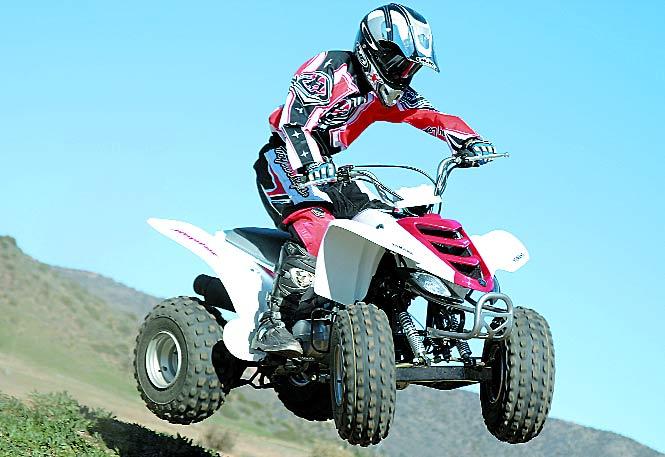 Mini Test: 2005 Yamaha Raptor 80