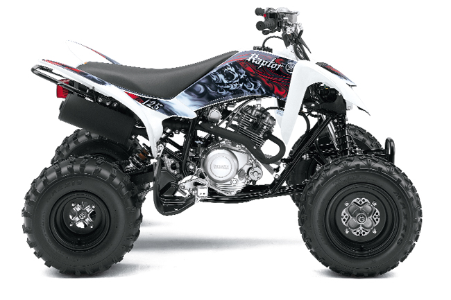 2011 yamaha raptor 125 dirt wheels magazine for Yamaha raptor 125 price