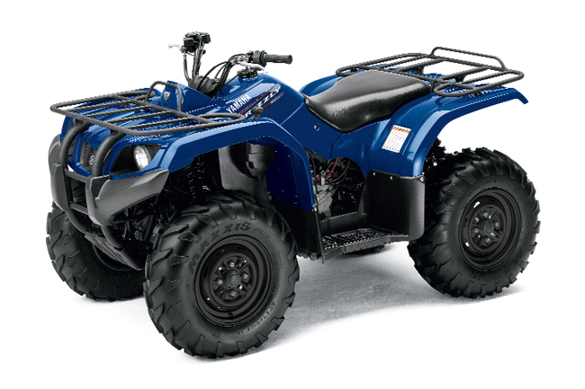 2011 yamaha grizzly 350 350irs dirt wheels magazine. Black Bedroom Furniture Sets. Home Design Ideas