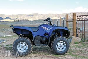 YAMAHA GRIZZLY 550 TEST | Dirt Wheels Magazine