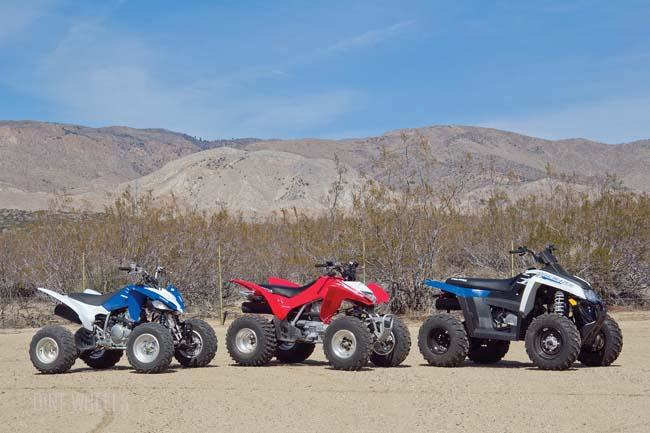 Yamaha Raptor  Vs Honda Trx
