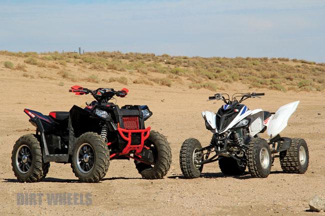 Suzuki King Quad 700 >> YAMAHA RAPTOR 700 vs. POLARIS SCRAMBLER 850 | Dirt Wheels Magazine