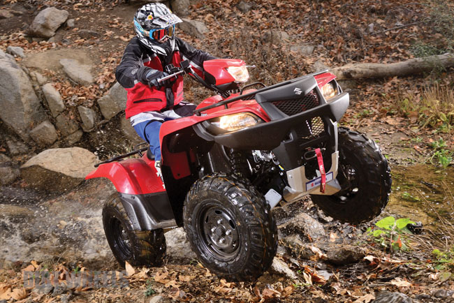 SUZUKI KINGQUAD 750AXi | Dirt Wheels Magazine