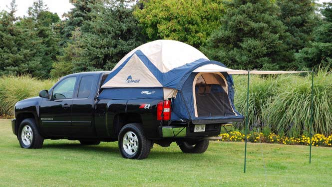 Sportz Truck Tent Iii : Set up camp wherever your truck will take you dirt