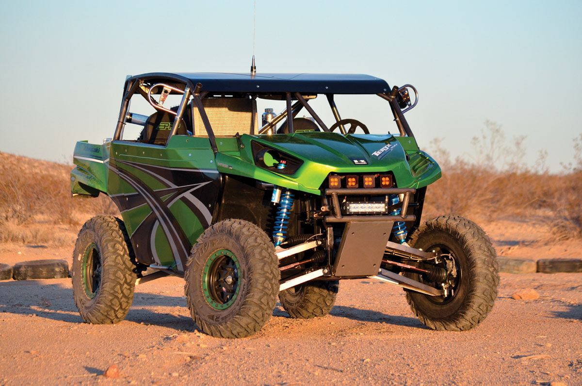 dirt wheels magazine | project utv: kawasaki teryx racer