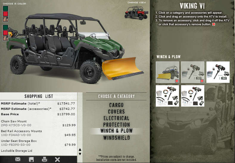 Yamaha launches build your own viking vi site dirt for Website to build your own house