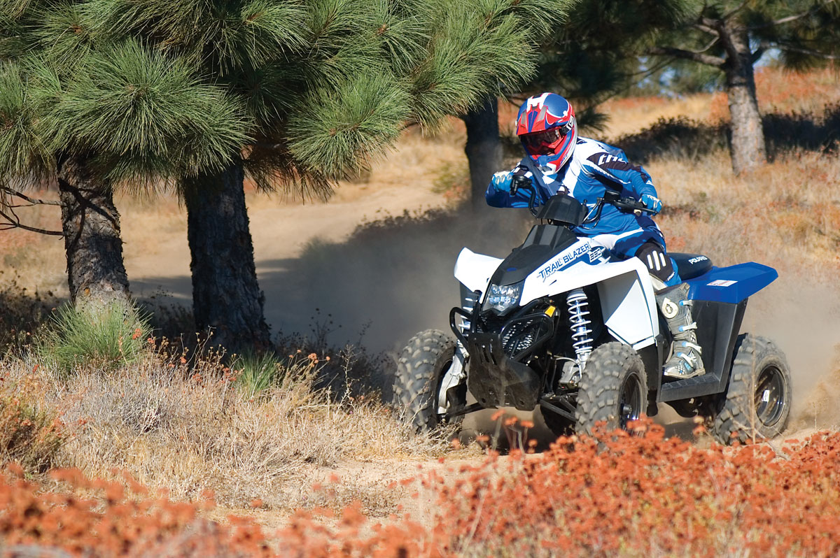 Polaris Trailblazer 250 Top Speed