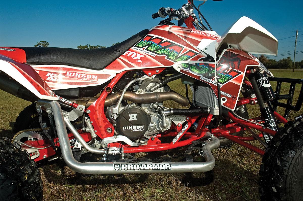 Project Atv Walsh Race Craft Honda Suzuki 450 Dirt