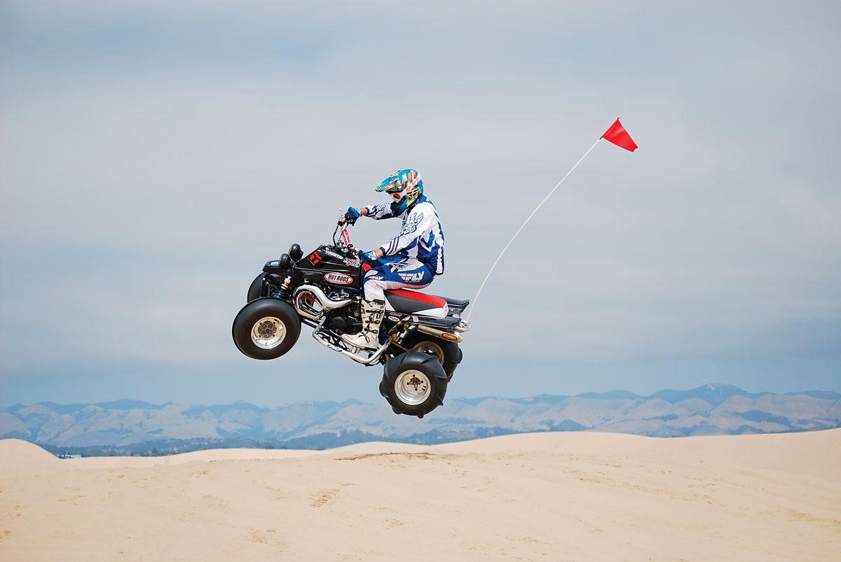 PROJECT ATV: Banshee Back to Life!   Dirt Wheels Magazine