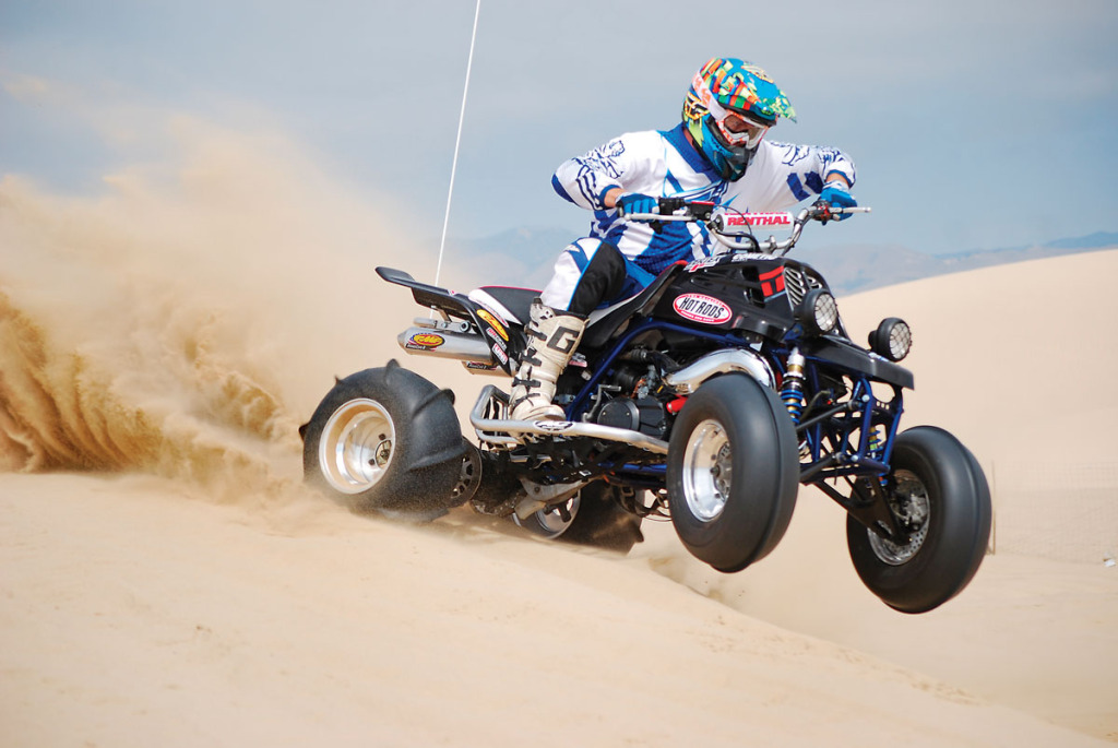 Project Atv Banshee Back To Life Dirt Wheels Magazine