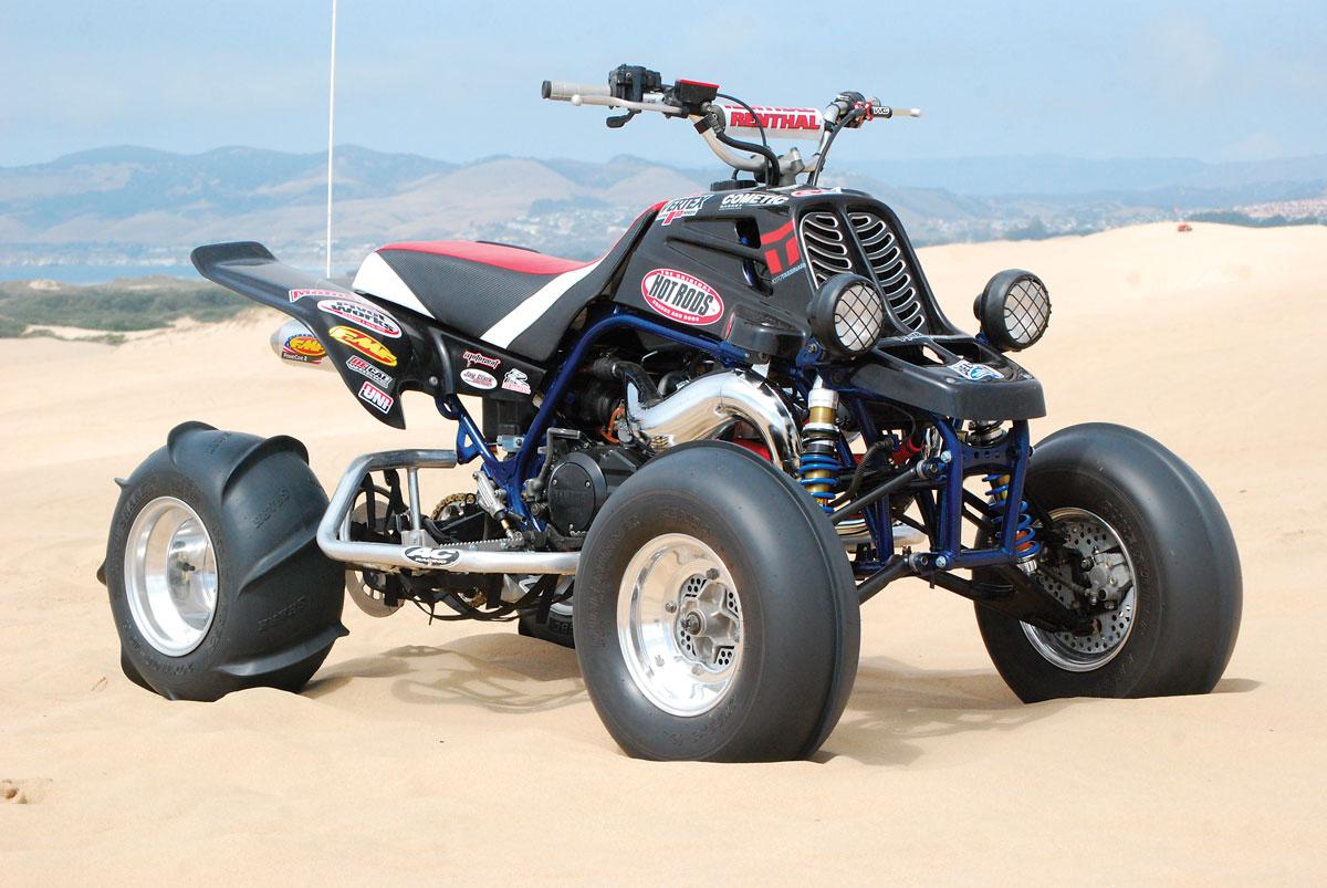 PROJECT ATV: Banshee Back to Life! | Dirt Wheels Magazine
