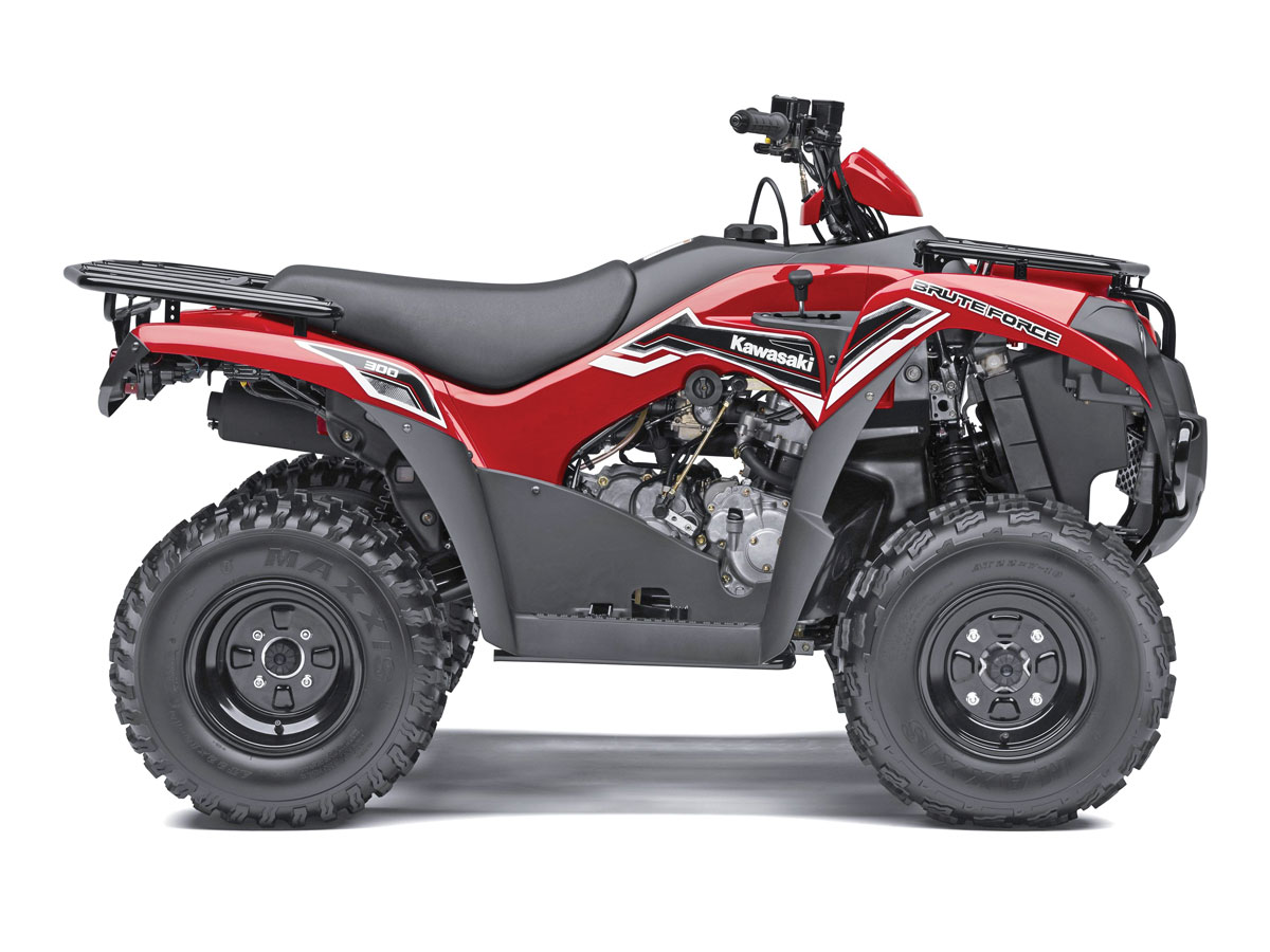 2014 4x2 Atv Buyers Guide Dirt Wheels Magazine Suzuki 400 4x4 Wiring Diagram 04 Kawasaki Bruteforce 300