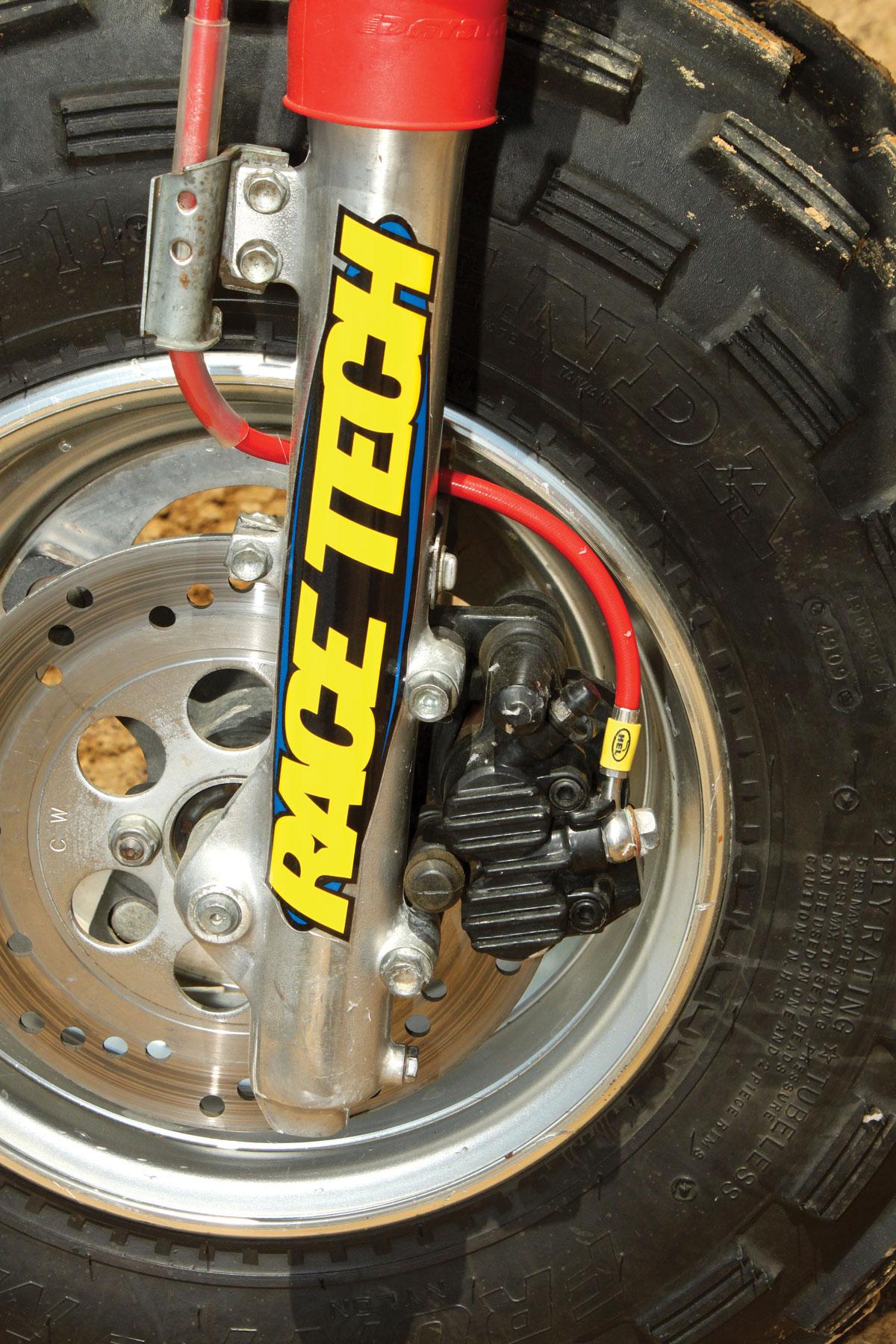 Honda Rear Brake Caliper Assembly For ATC350X  With Pad 1985-1986