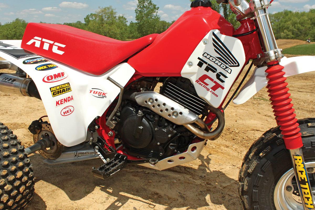 Honda Atc 350x Rebuild Dirt Wheels Magazine 300ex Engine Camshaft Diagram 8