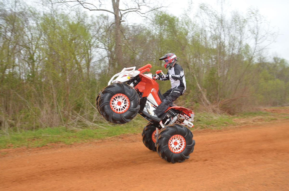 Project Atv Nitrous Renegade Dirt Wheels Magazine